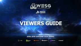 WESG 2018-2019 Ukraine Qualifiers: Расписание LAN-финалов