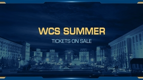 Viewer tickets for WCS Summer are now on sale