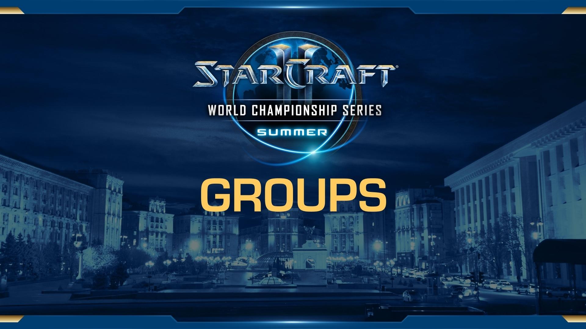 WCS Summer: состав участников и посев на групповой этап