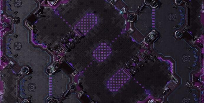 Neon Violet Square LE